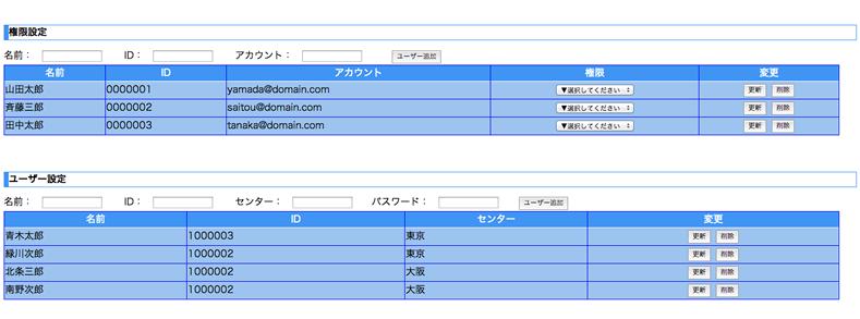 Google Apps Script/Google App Engineによるアプリケーション開発