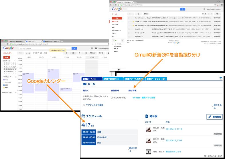 Google Workspace(旧G Suite)連携社内ポータル