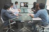 Google Workspace連携グループウェアの機能「Web会議」
